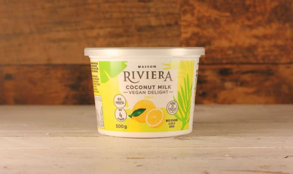Lemon Coconut Yogurt