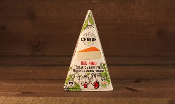 Organic Cultured Cashew Cheese - Red Rind