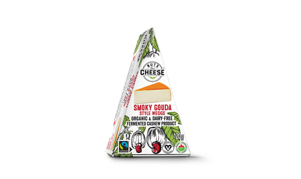 Organic Cultured Cashew Cheese- Smoky Gouda