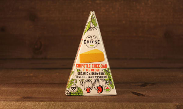 Organic Cultured Cashew Cheese- Chipotle Cheddar