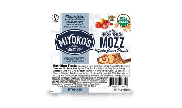Organic Fresh Vegan Mozz