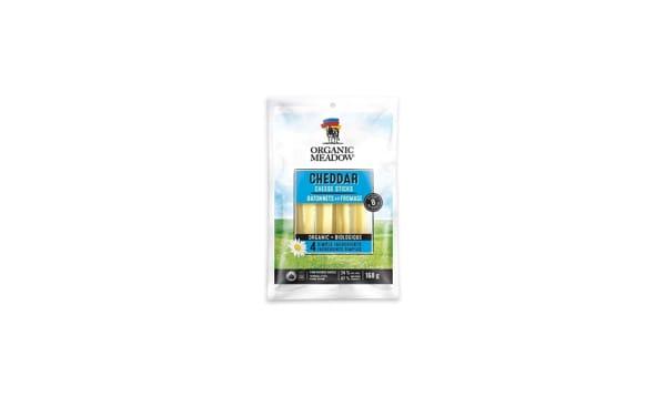 Organic Milk Cheddar Cheese Sticks