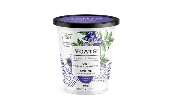 Unsweetened Blueberry Yoats