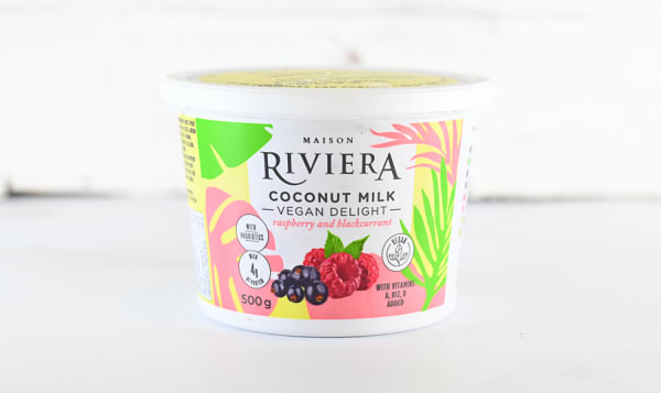 Coconut Vegan Delight - Raspberry Blackcurrant
