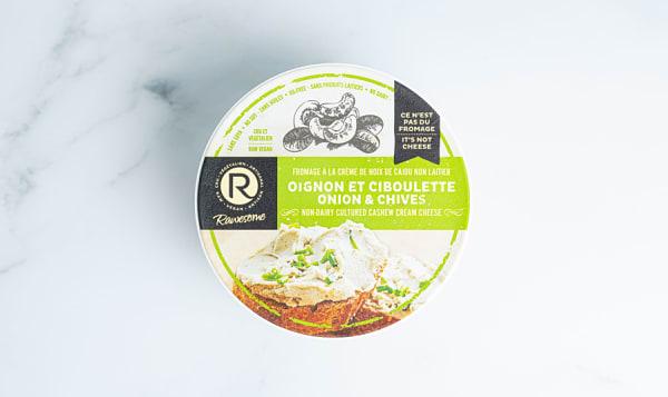 Cashew Cream Cheese - Onion & Chives