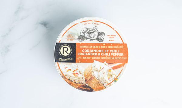 Cashew Cream Cheese - Coriander & Chili
