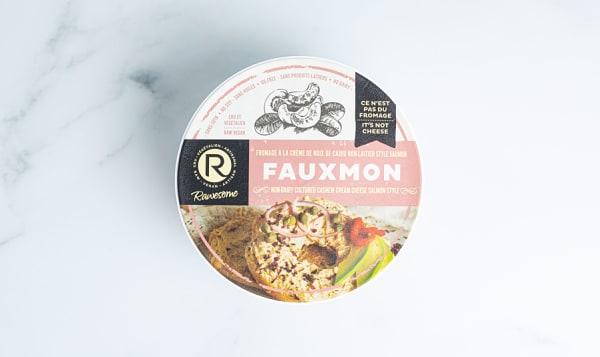 Cashew Cream Cheese - Vegan Salmon