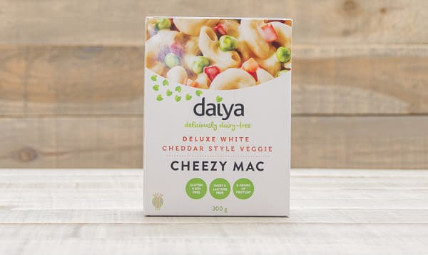 Deluxe White Cheddar Style Veggie Cheezy Mac