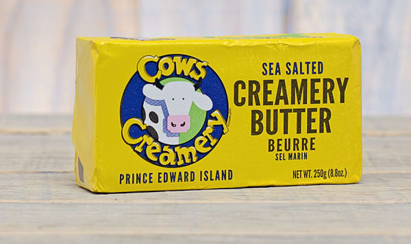 Sea Salted PEI Butter (84% Butter Fat)