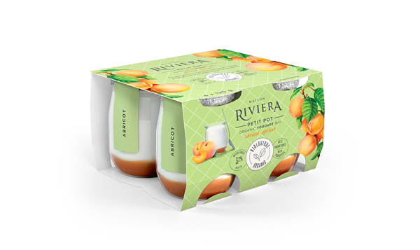 Organic Petit Pot - Apricot Yogurt