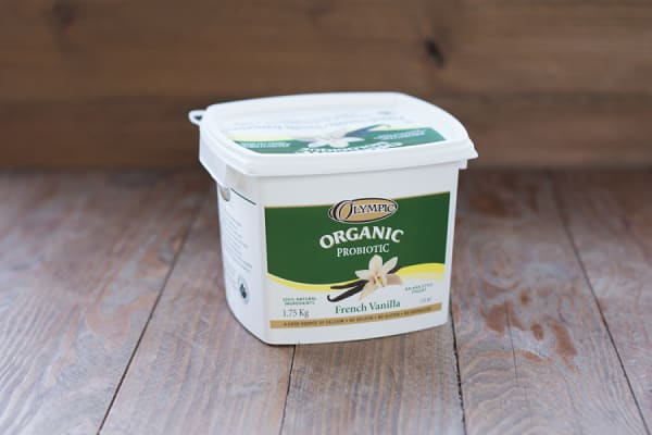 Organic French Vanilla Yogurt - 3.5% MF