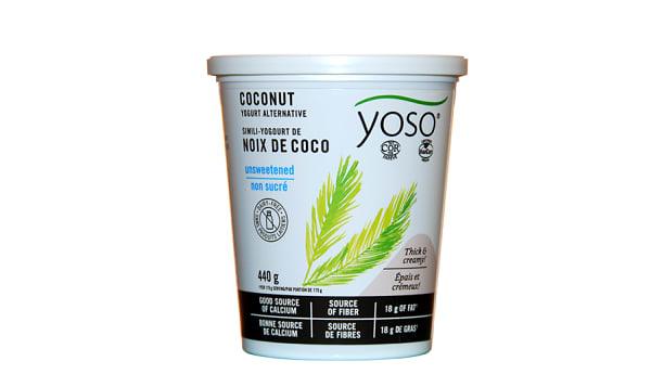 Cultured Coconut Yogurt - Unsweetened