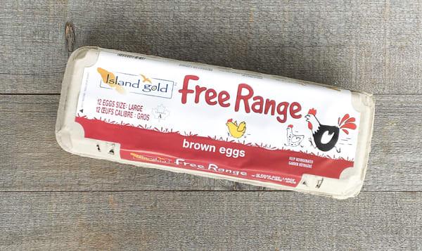 Free Range Large Brown Eggs