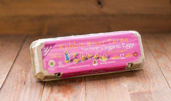 Organic Eggs, Medium