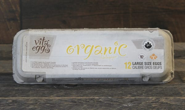 Organic Vita Eggs, Large