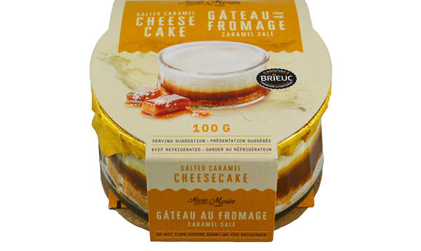 Salted Caramel Cheesecake (Frozen)