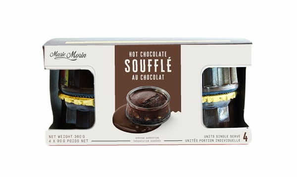 Hot Chocolate Souffle 4Pk (Frozen)