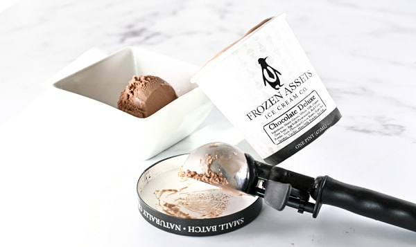 Chocolate Deluxe Ice Cream (Frozen)