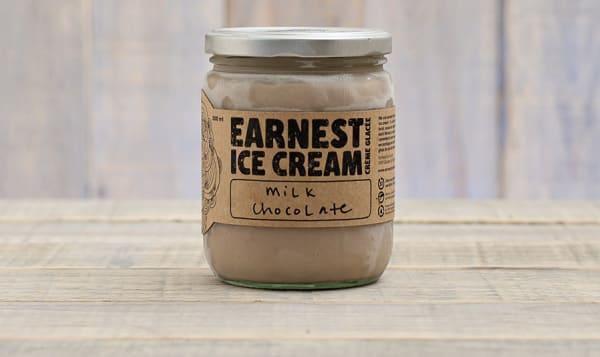 Milk Chocolate Ice Cream (Frozen)