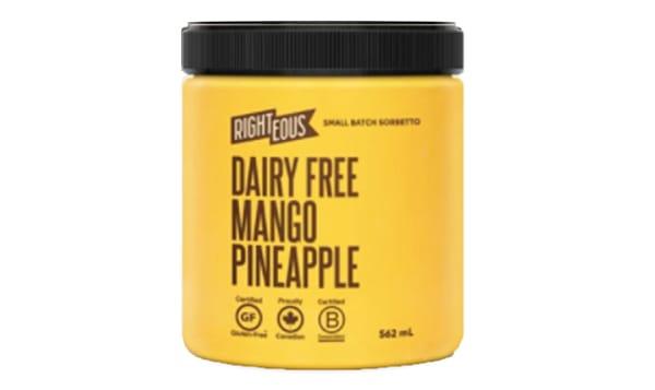 Mango Pineapple Sorbetto (Frozen)