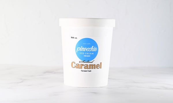 Salted Caramel Ice Cream (Frozen)