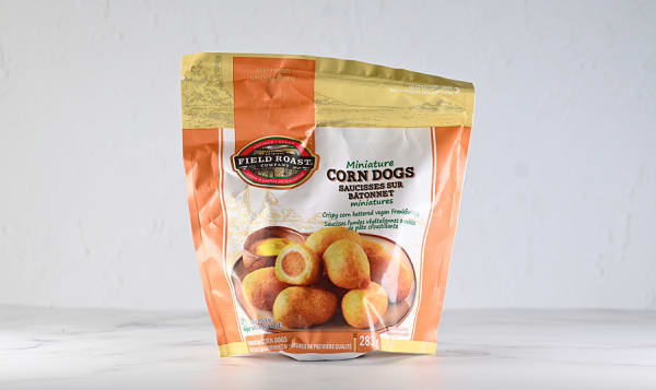 Mini Vegetarian Corn Dogs (Frozen)