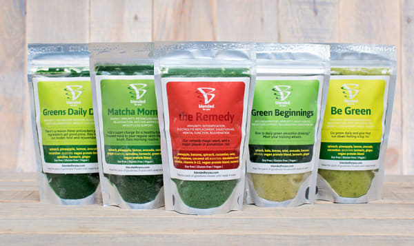 Green Lovers Smoothie Packs (Frozen)