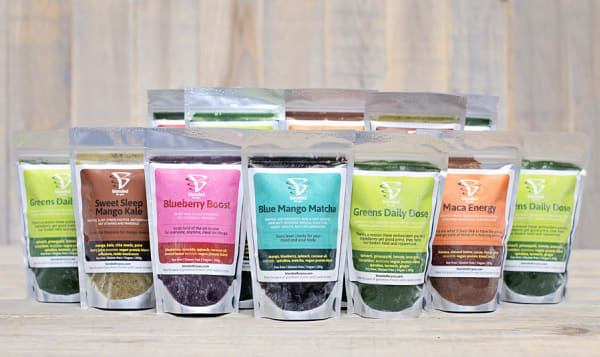 3 Day Cleanse & Re-Set 15 Smoothie Packs (Frozen)
