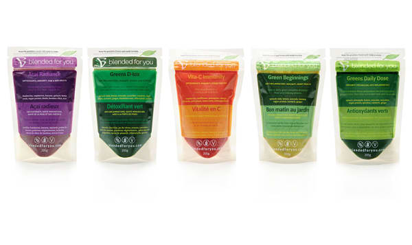 Blended Beauty Smoothie Packs (Frozen)
