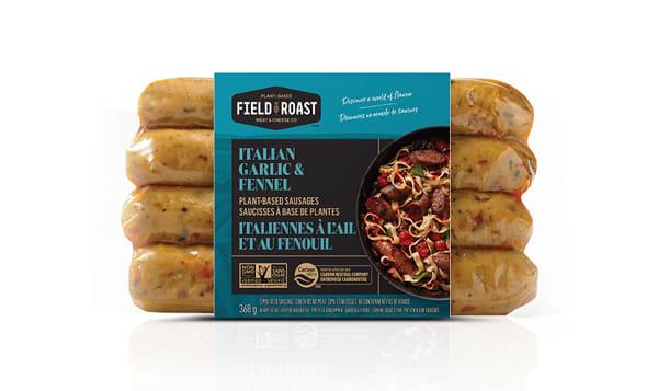 Italian Garlic & Fennel Sausages (Frozen)