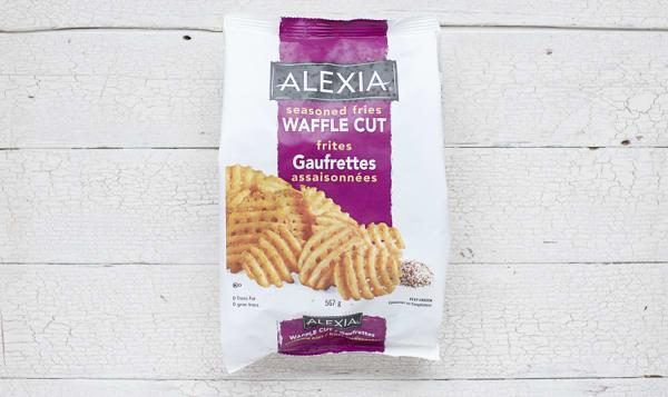 Waffle cut fries (Frozen)