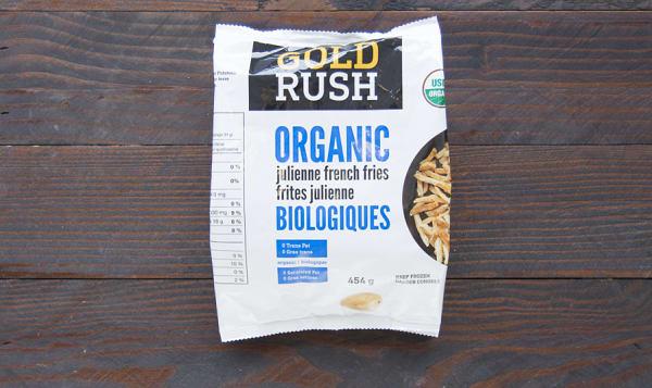 Organic Julienne Fries (Frozen)