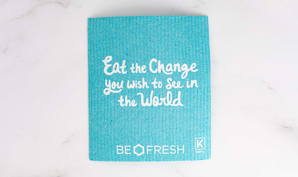Reusable & Compostable Towel - Turquoise