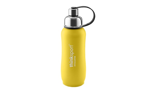 25 oz (750 ml) Insulated Sports Bottle - Yellow