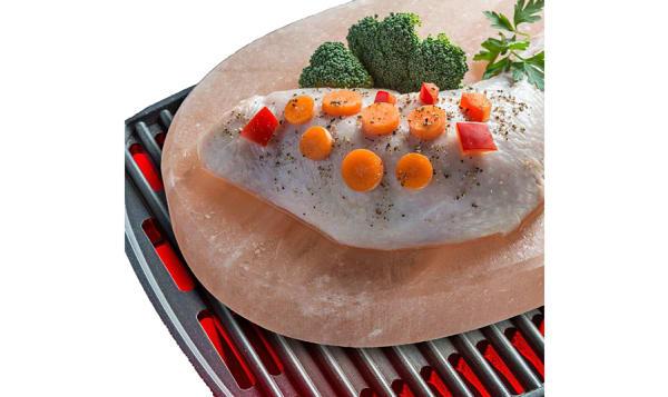 Crystal Salt BBQ Plate