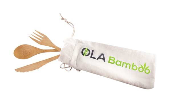 Reusable Bamboo Utensils