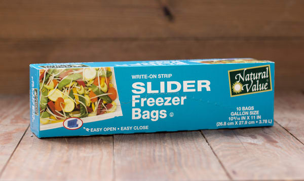Freezer Bags with Slider