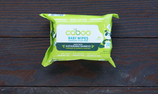 100% Tree-less Baby Wipes - Travel Pack