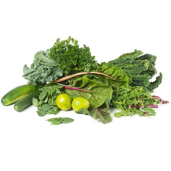 Organic Essential Greens Juicing Box