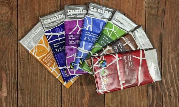 Organic Camino Fair Trade Chocolate Sampler