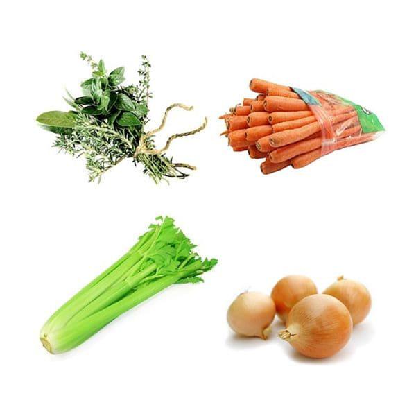 Organic Vegetable Soup Stock Starting Ingredient Bundle
