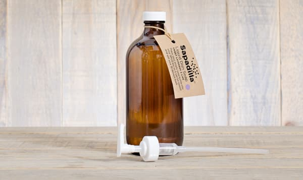 Refillable Dish Soap with Pump - Sweet Lavender & Lime