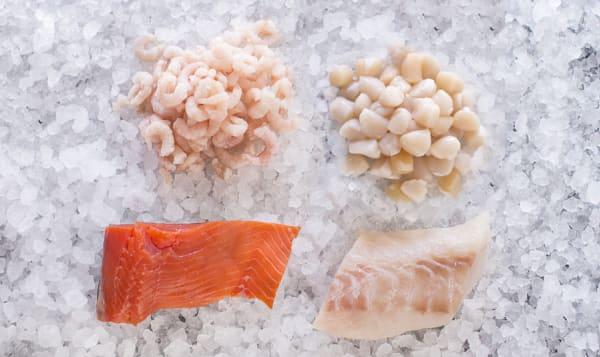 Seafood Assortment (Frozen)