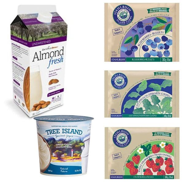 Double Berry Smoothie Ingredient Bundle
