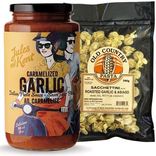 Local Garlic Lovers Pasta Combo Ingredient Bundle