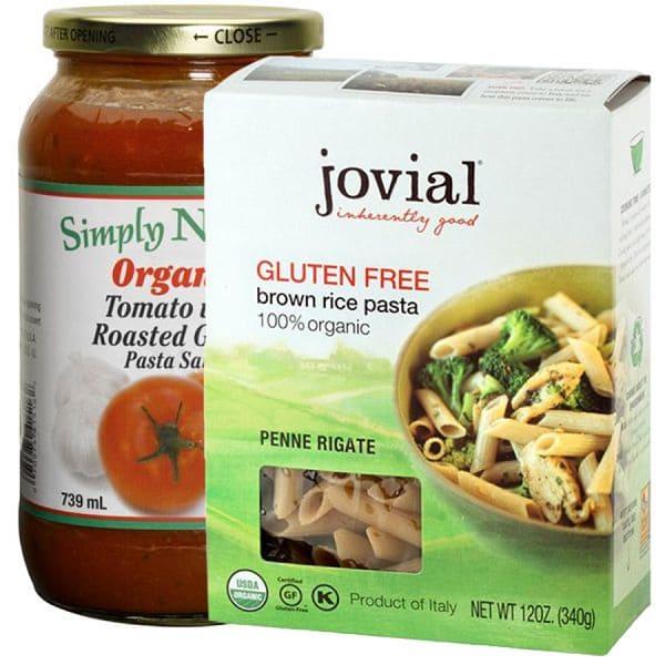 Gluten Free Pasta Dinner Combo Ingredient Bundle