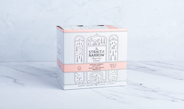 The Strait & Narrow - Grapefruit Rosemary Gin Cocktail