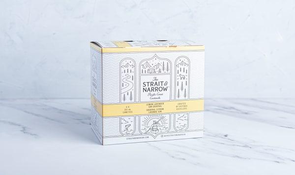The Strait & Narrow - Lemon Lavender Gin Cocktail