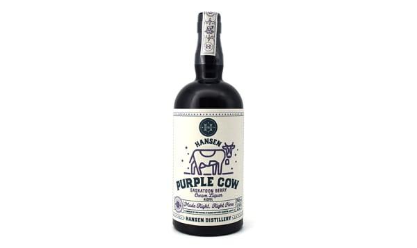 Purple Cow - Saskatoon Berry Cream Liqueur