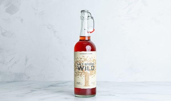 Organic Elderberry/Elderflower Cider